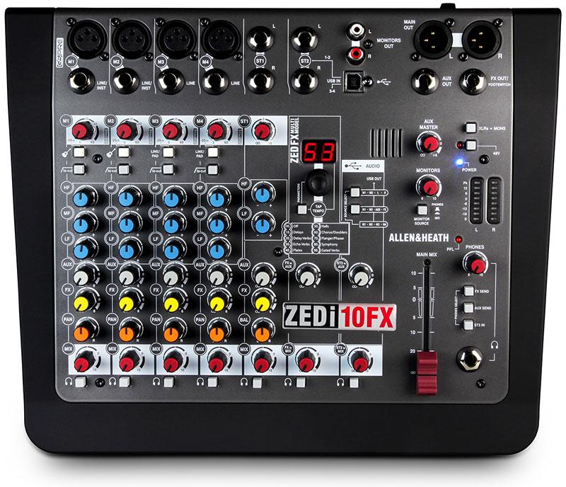 Allen & Heath ZEDi-10FX Hybrid Mixer with Effects