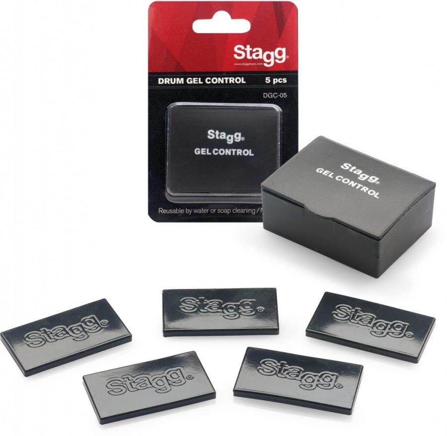 Stagg DGC-05 BK Drum Gel Control - 5 Damper Pads