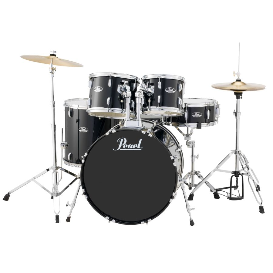Pearl Roadshow 5 piece Fusion Drum Kit with cymbals RS525SC/C