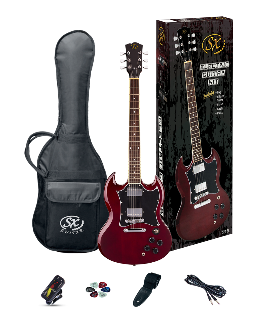 SX electric guitar kit SG style, inc amp