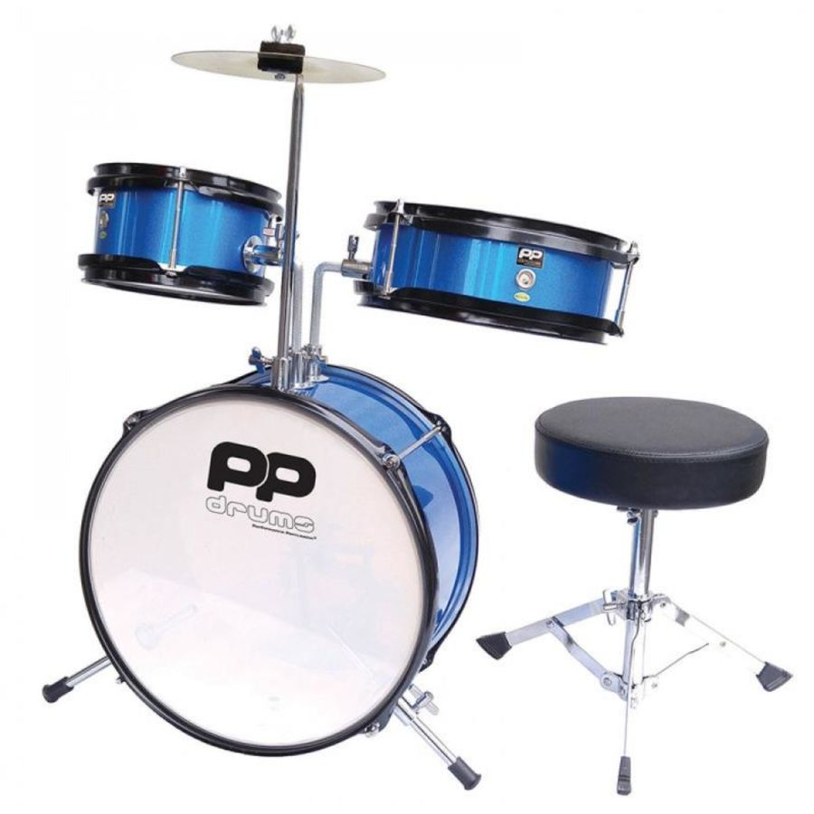 Performance Percussion PP101BL Junior Drum Set (Blue)