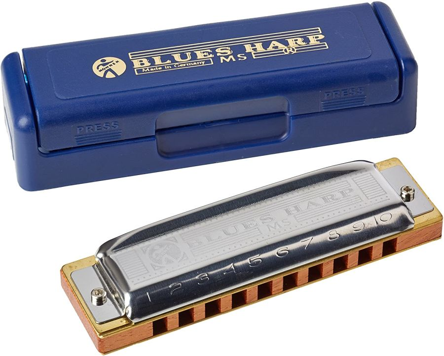 Hohner Blues Harp MS - 10 Hole Diatonic Harmonica