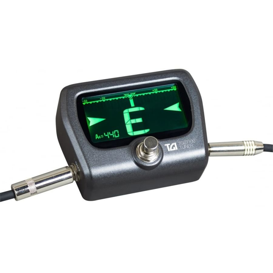TGI Pedal Tuner for Electric or Bass Guitar TGST100