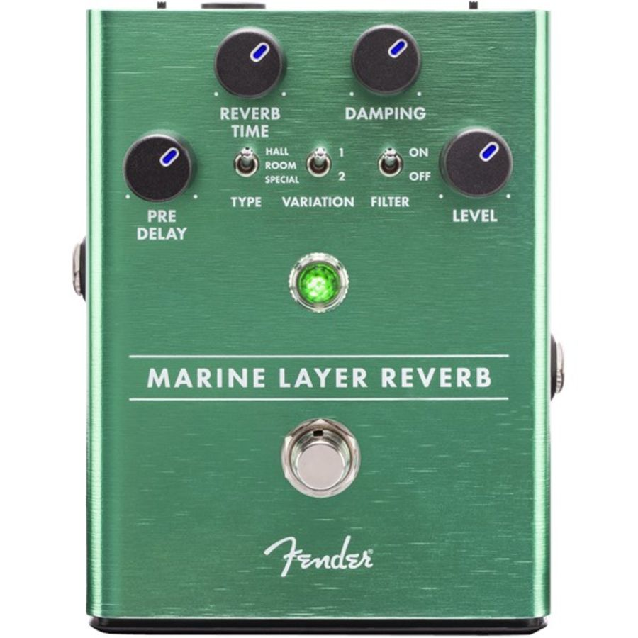 Fender Marine Layer Reverb Pedal Guitar Effects Pedal