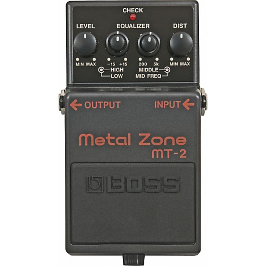 Boss MT-2 Metal Zone Guitar Effect Pedal