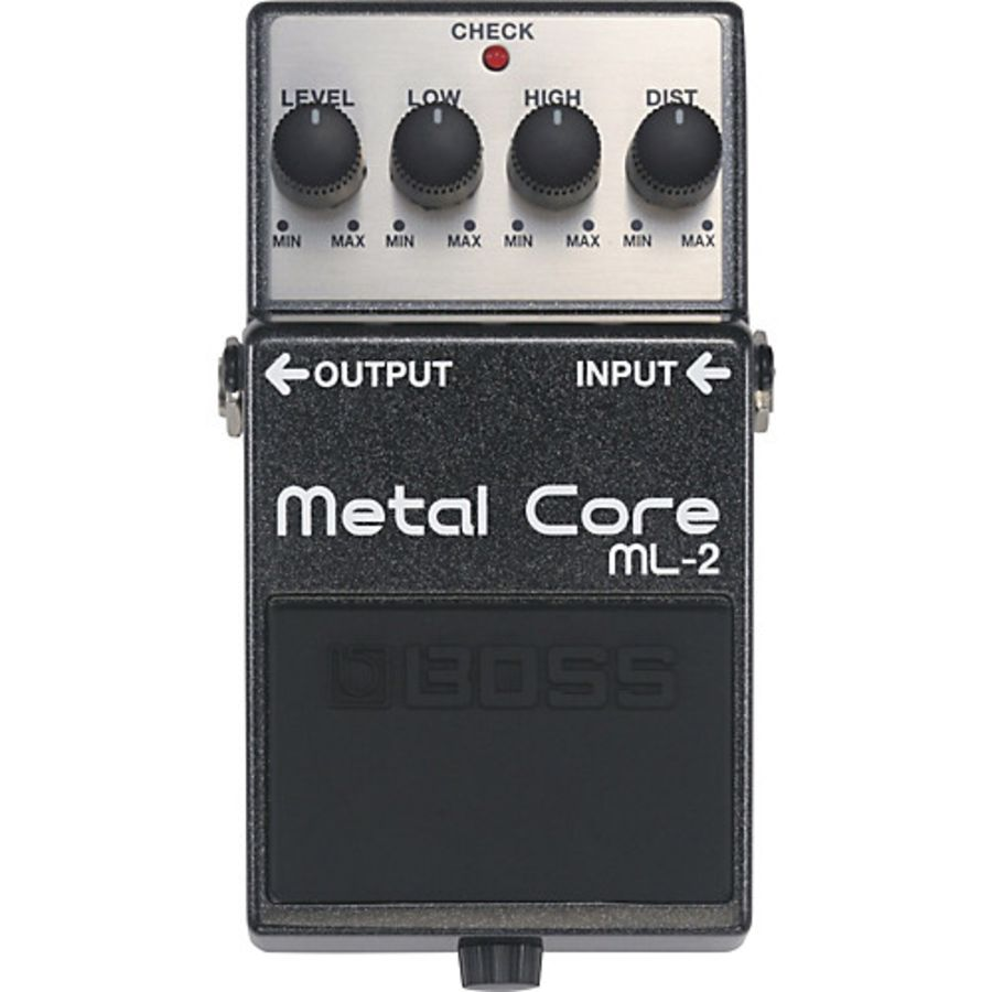 Boss ML-2 Metal Core Distortion Effects Pedal