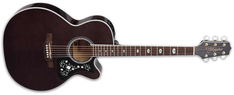 Takamine GN75CE NEX Grand Auditorium Electro Acoustic, Wine Red