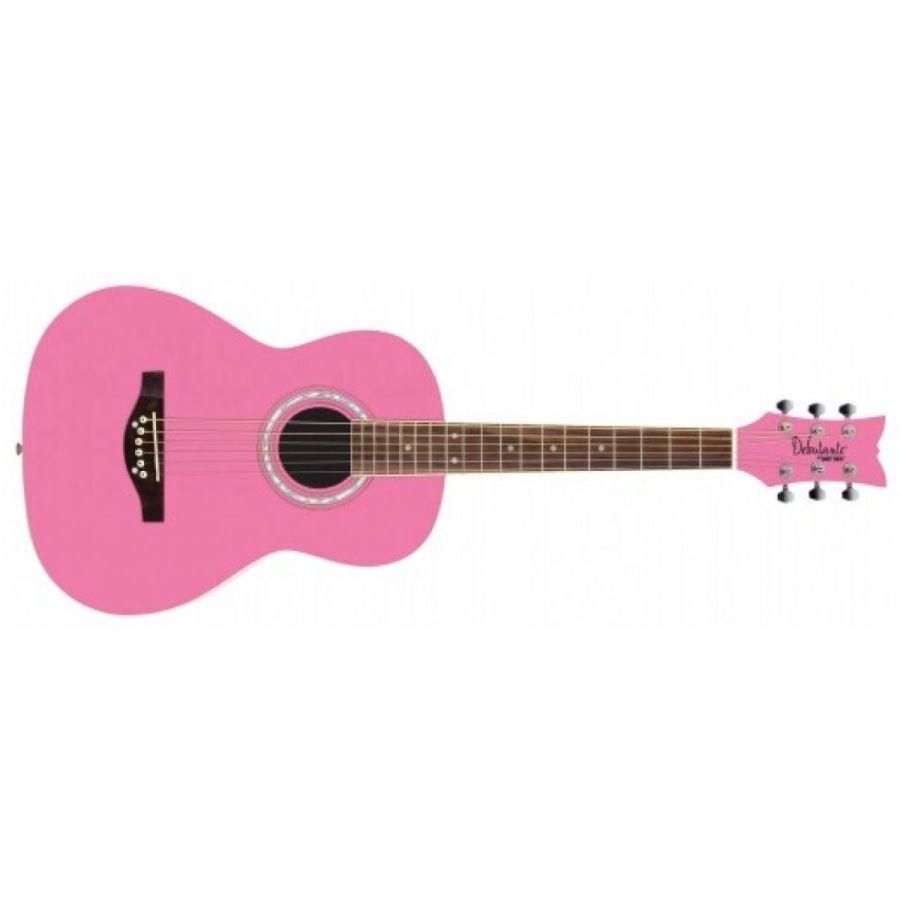 Daisy Rock 'Debutante Junior Miss Acoustic' Guitar, Bubble Gum Pink