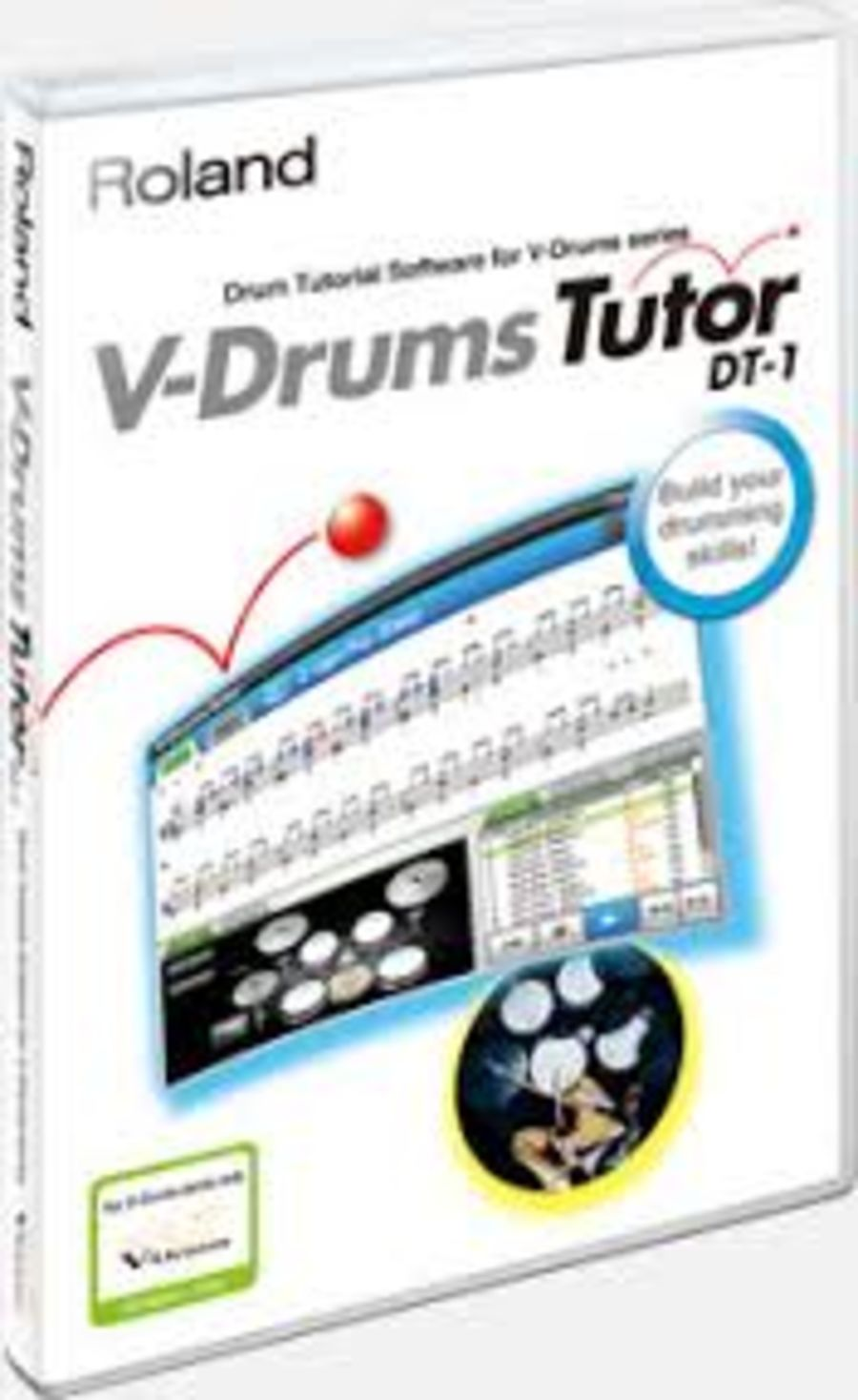 Roland DT1 V-Drum Tutor Software for Mac or PC