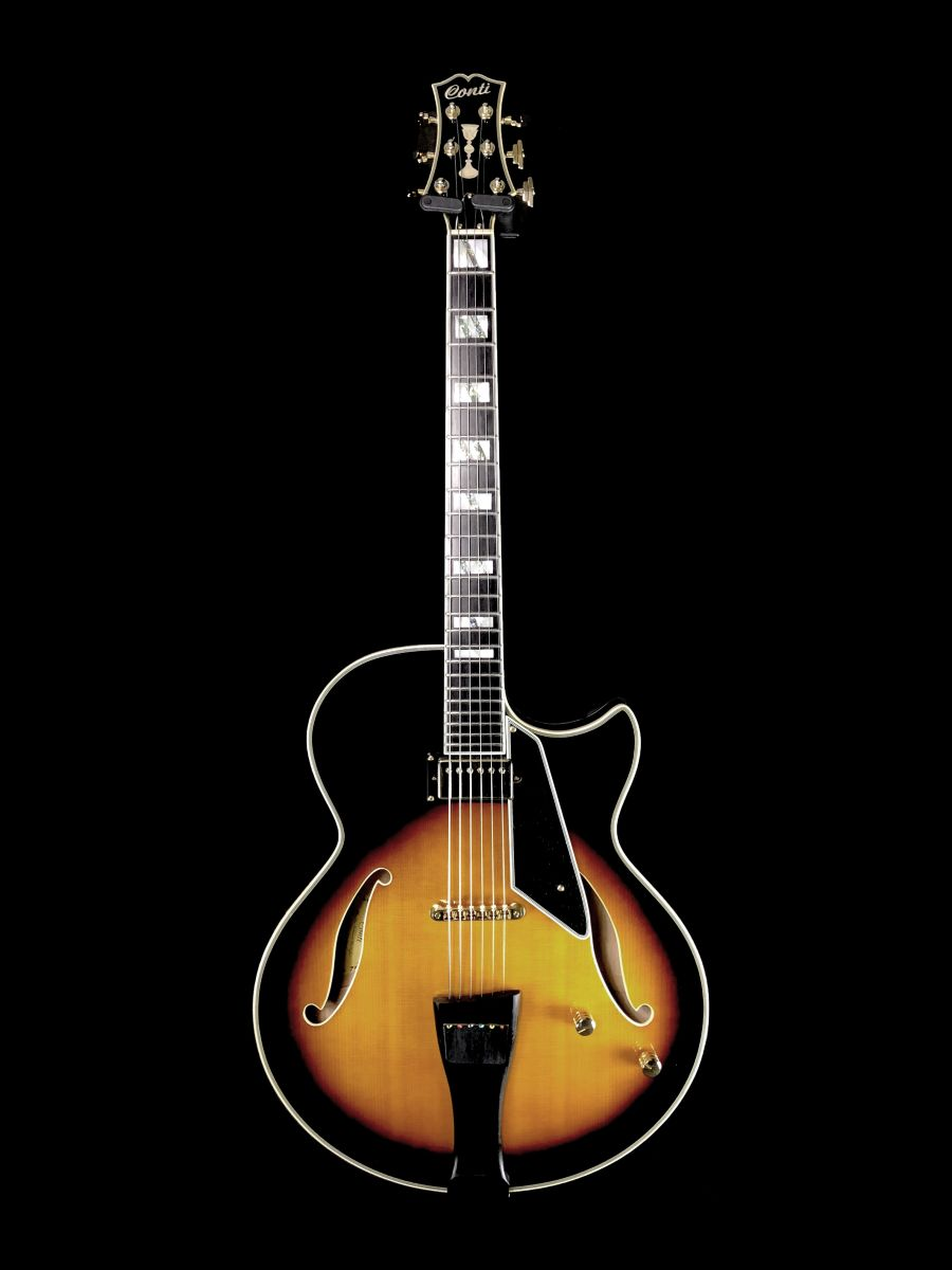 SOLD - 2009 Conti Equity - Thinline Archtop