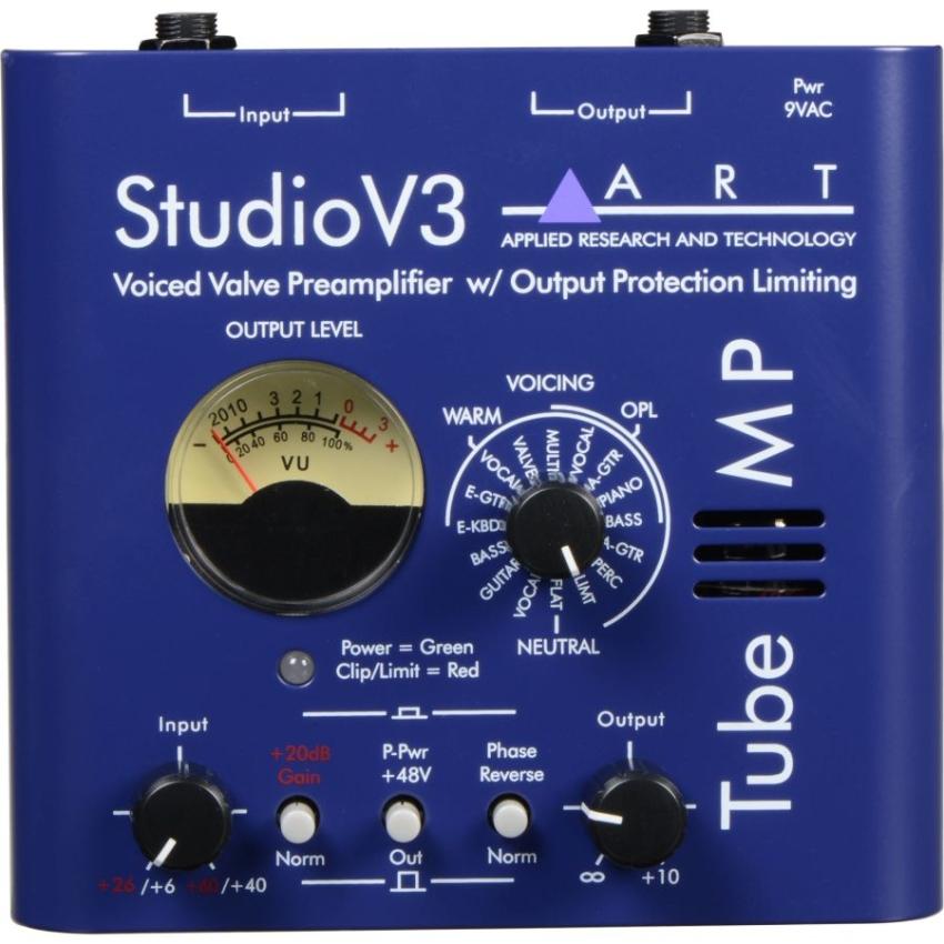 Art Tube MP Studio V3 Single Channel Tube Preamp