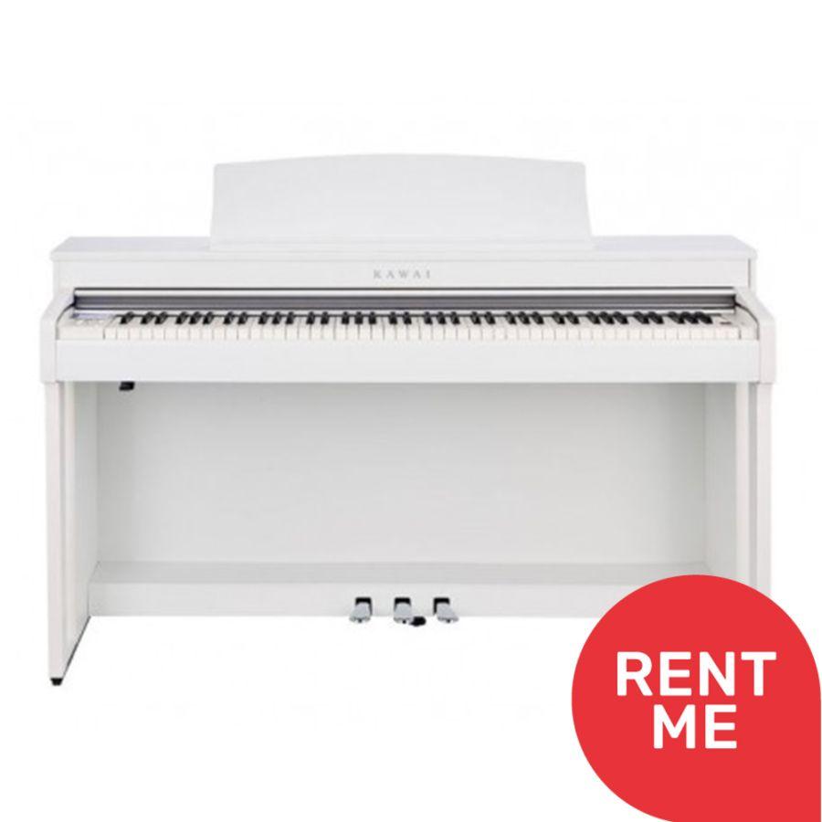 Kawai CN37W Satin White Digital Piano - Ex Display