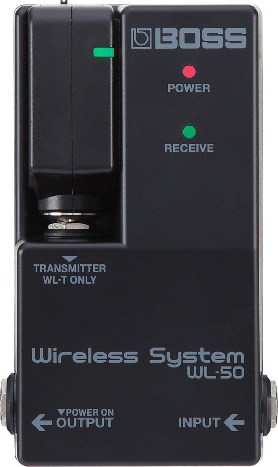 Boss WL-50 Wireless Pedal-board System WL Wireless System