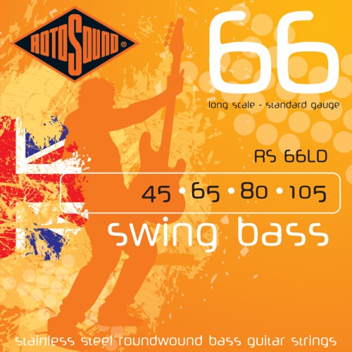 Rotosound Swing 66 Nickel 45-105