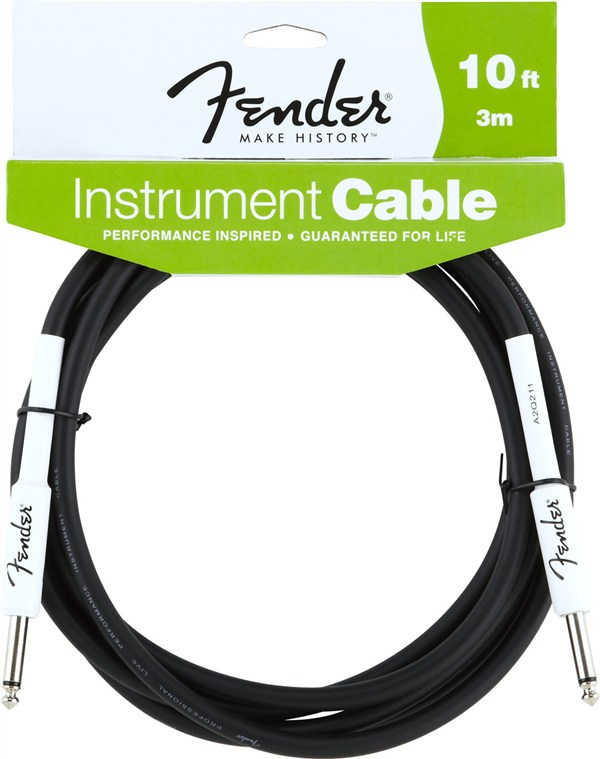Fender Performance Series Instrument Cable, 10`