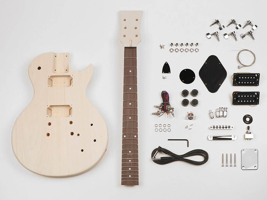 Boston KIT-LP-10 guitar construction kit single-cut style