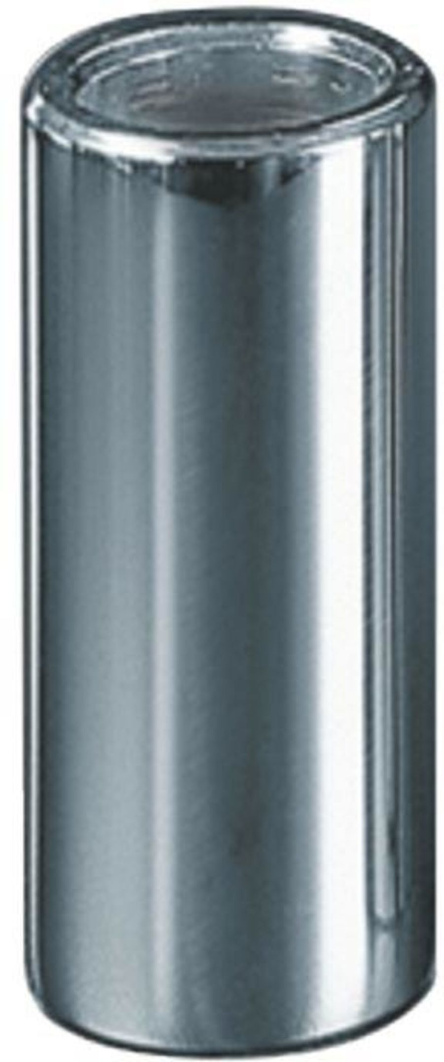 Dunlop 220 Chromed Steel Slide, Medium Wall, Standard