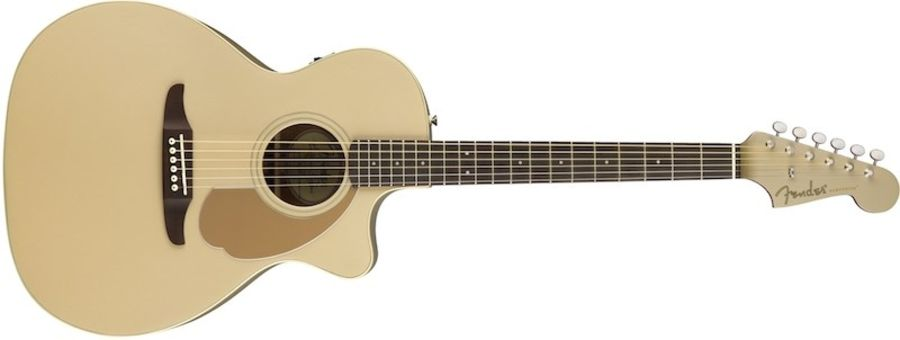 Fender California Newporter Player Champagne Electro-Acoustic Guitar