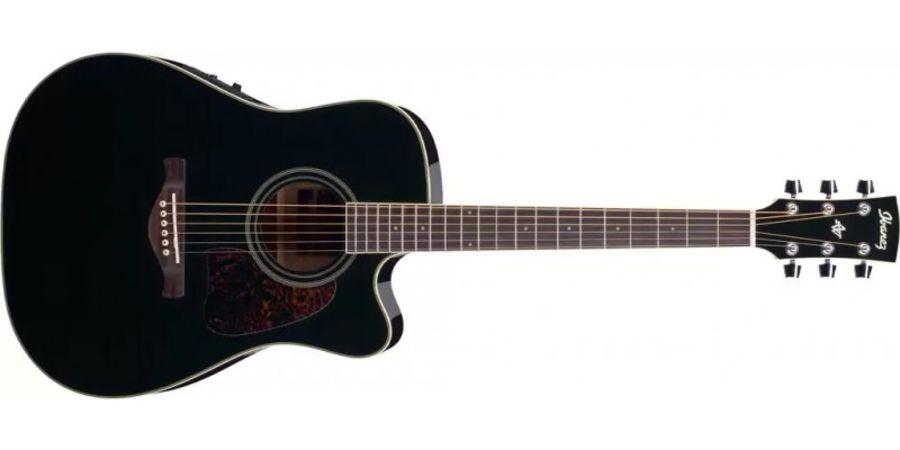 Ibanez AW70ECE-BK Electro Acoustic Black