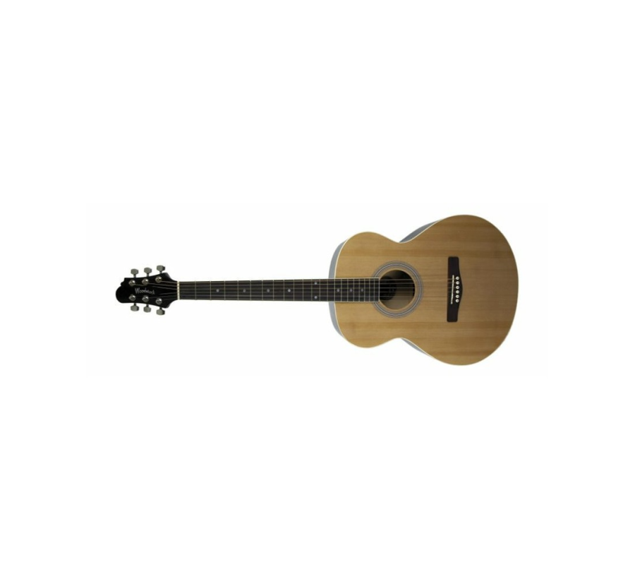 Woodstock Folk Sized Left-Handed Acoustic Guitar