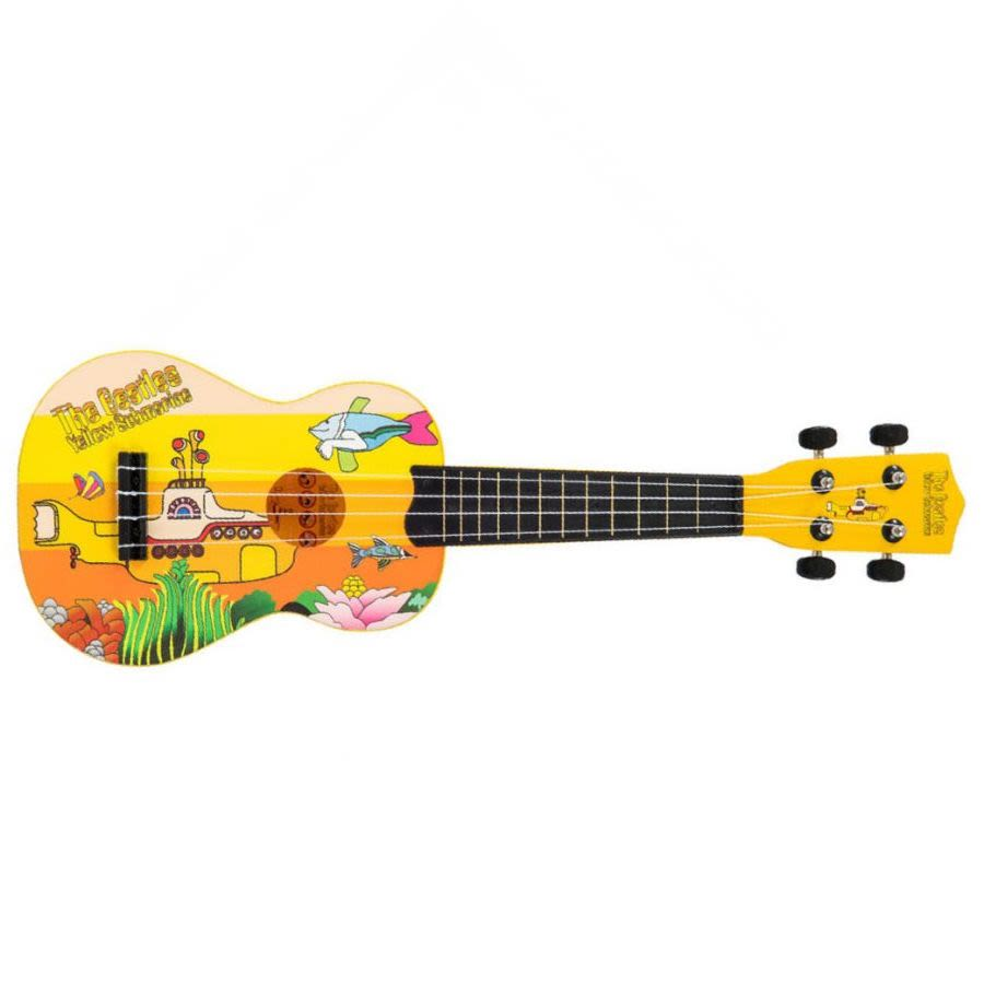 The Beatles YSUK02 Yellow Submarine Ukulele -  Yellow