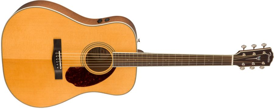 Fender Paramount PM1 Electro Acoustic Standard Dreadnought in Natural