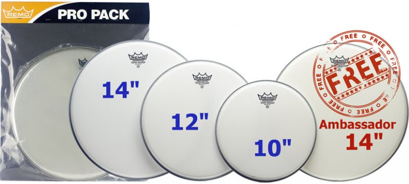 Remo Emperor Coated ProPack