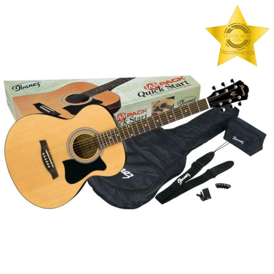 Ibanez VC50NJP-NT JamPack - Beginner Guitar Package - Natural