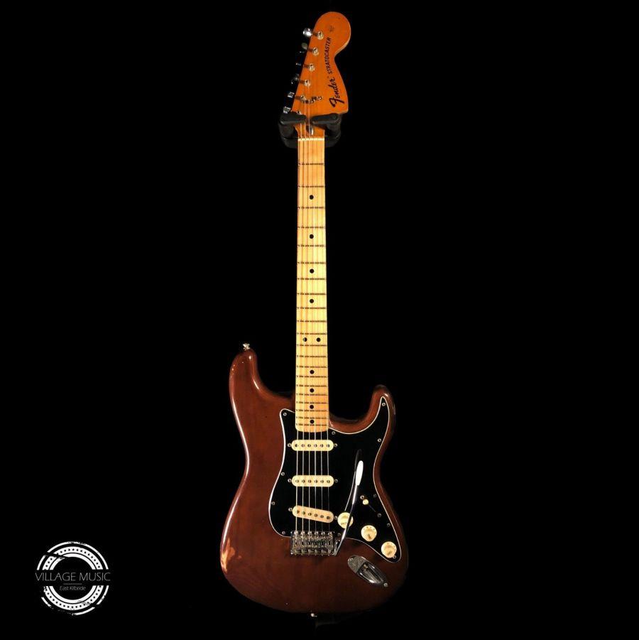 SOLD - Original 1976 Fender Stratocaster - Walnut Mocha