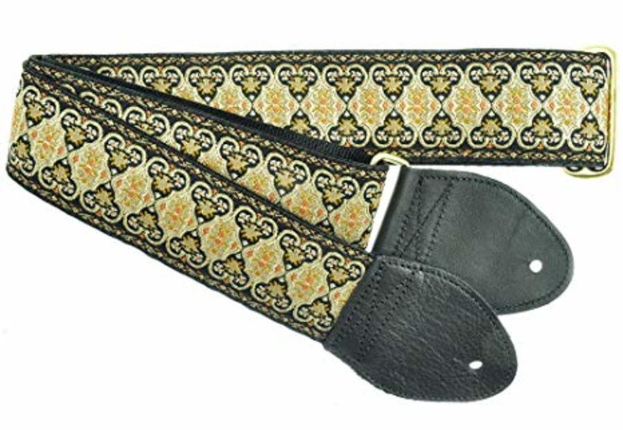 Souldier Guitar Strap Persian, Black