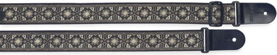 Stagg Woven Nylon Guitar Strap w/ Flower Pattern