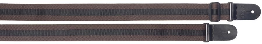 Stagg Woven Nylon Strap in Brown