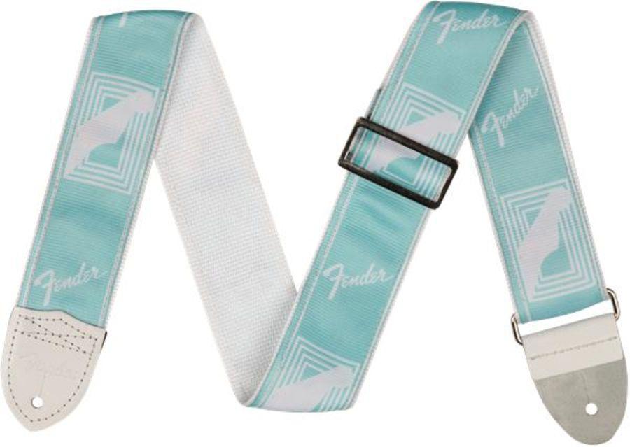 Fender Monogrammed Strap (Daphne Blue)