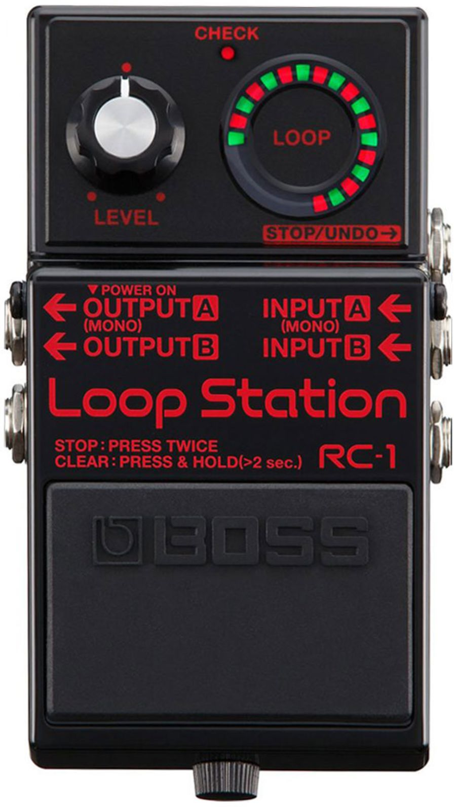 Boss RC-1-BK Loop Station 1m Commemorative Edition, Black