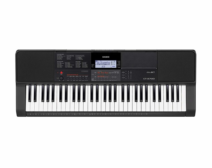 Casio CT-X700 - 61 Key Touch Sensitive Portable Keyboard