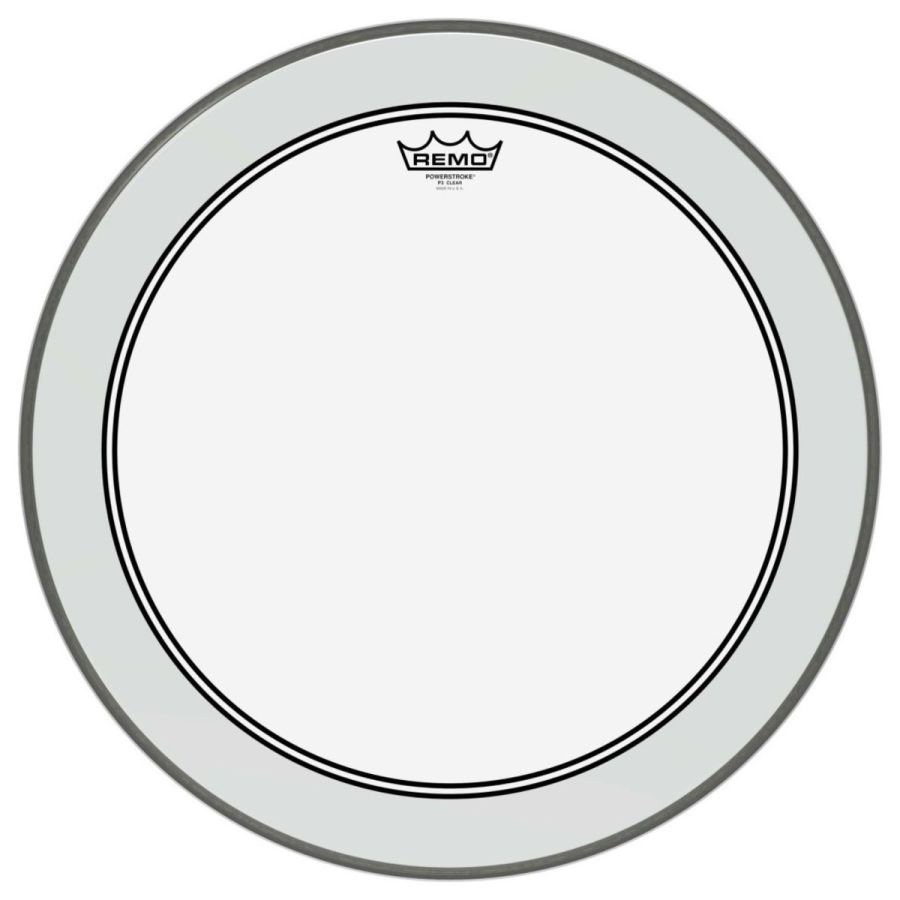 Remo Powerstroke 3 Clear 22'' Dot Bass Drum Head - P3-1322-C2