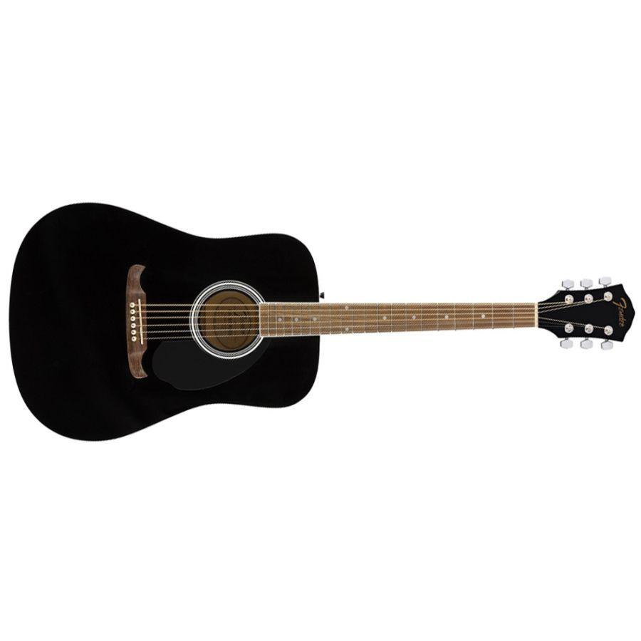 Fender FA-125 Dreadnought Acoustic Guitar - Black