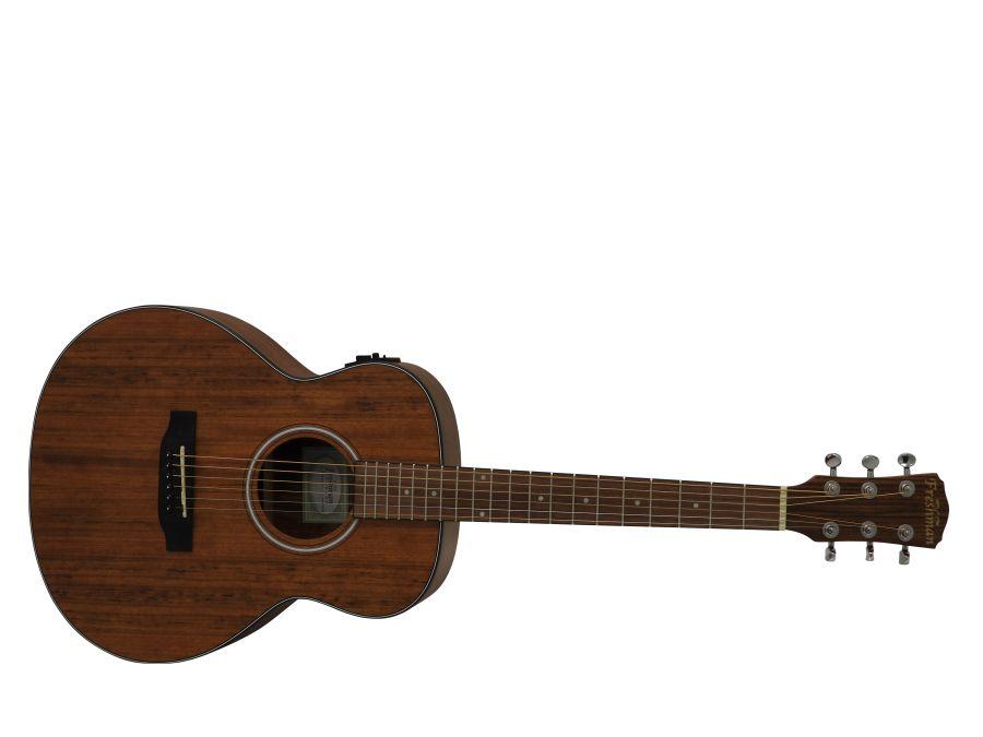 Freshman Walnut FAJNRWAL Electro Acoustic with padded Gigbag