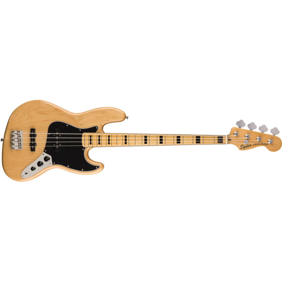 Squier Classic Vibe 70s Jazz Bass MN, Natural