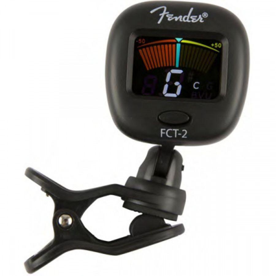 Fender FCT-2 - Colour Clip on Digital Tuner