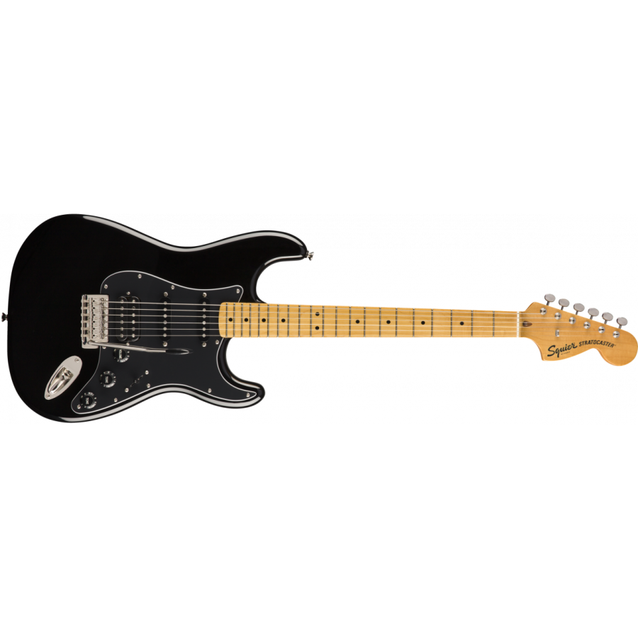 Squier Classic Vibe 70s Stratocaster HSS MN Black