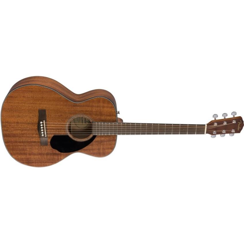 Fender CC-60S Concert Sized All-Mahogany Acoustic Guitar
