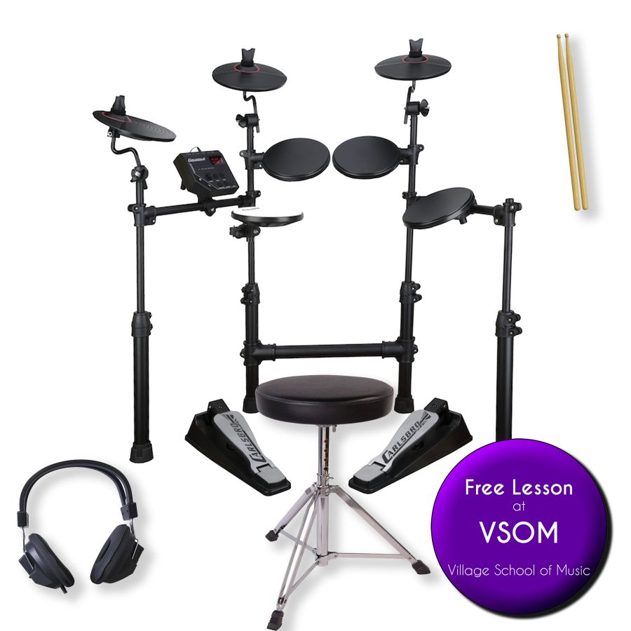 NEW Carlsbro CSD100 Electronic Drumkit