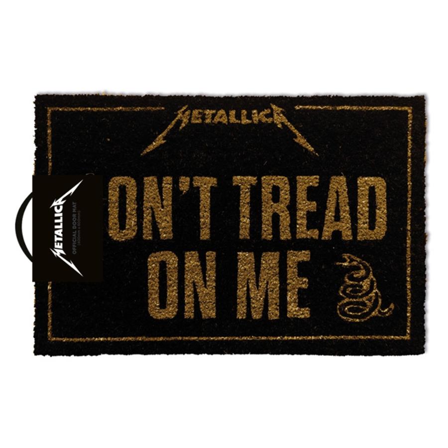 Metallica 'Don't Tread on Me' Doormat