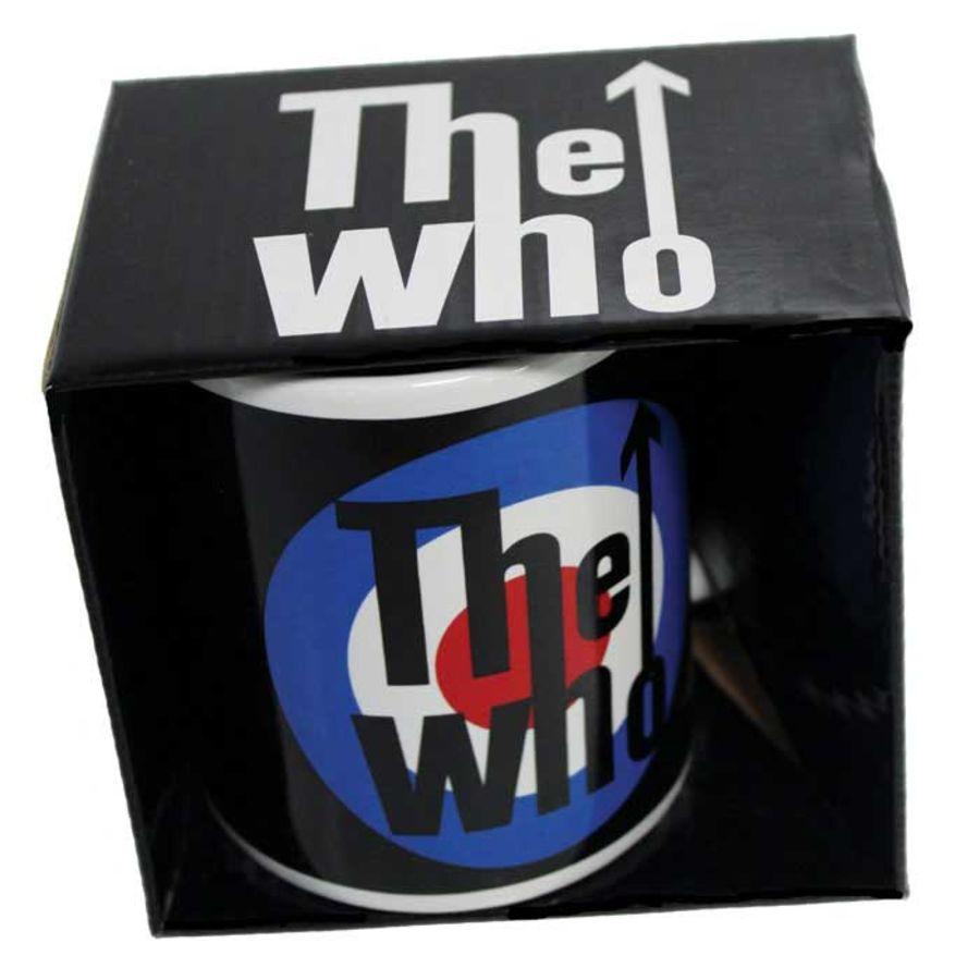 Who Boxed Mug Target Logo