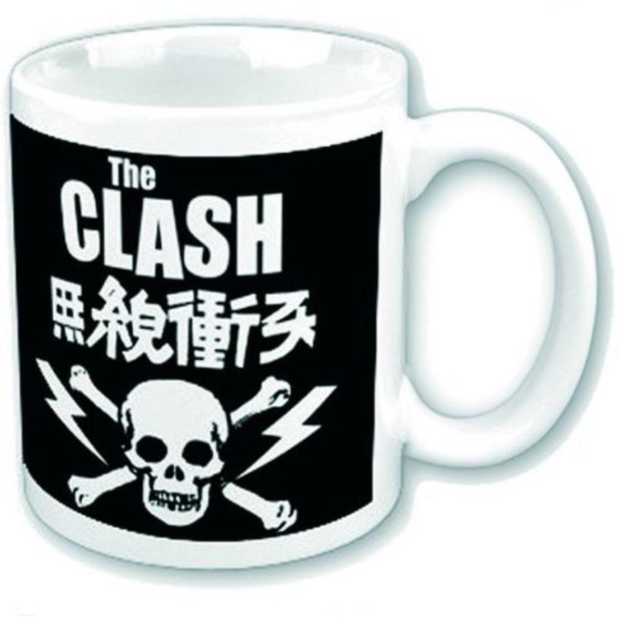 Clash Boxed Mug Skull & Crossbones