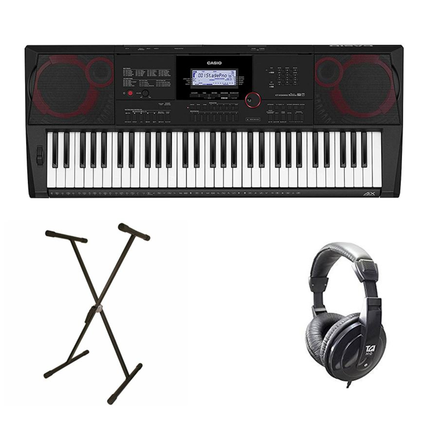 Casio CT-X700 - 61 Note Keyboard Bundle