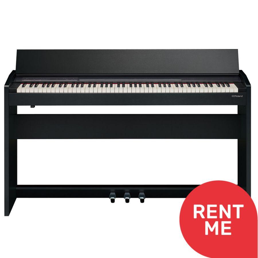 Roland F-140R Digital Piano - Contemporary Black Ex Display Package