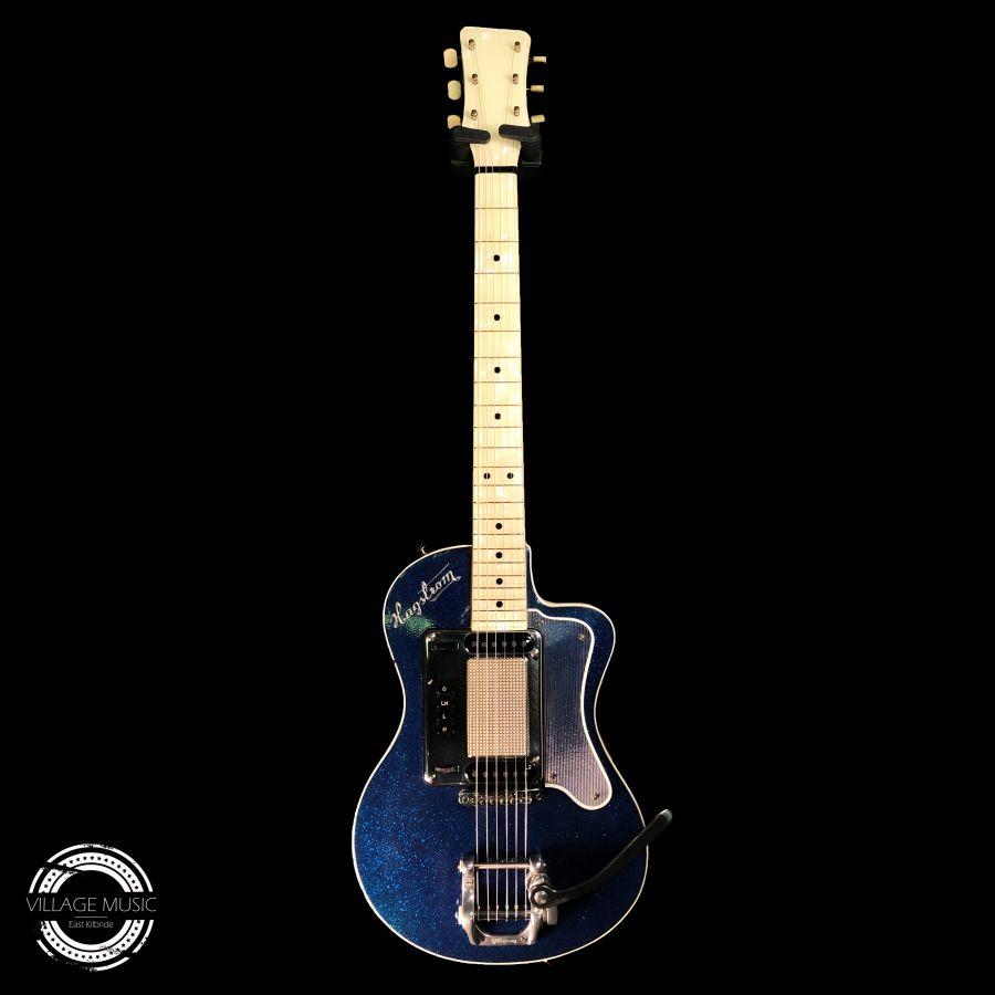 1960 Hagstrom Standard 80 - Blue Sparkle