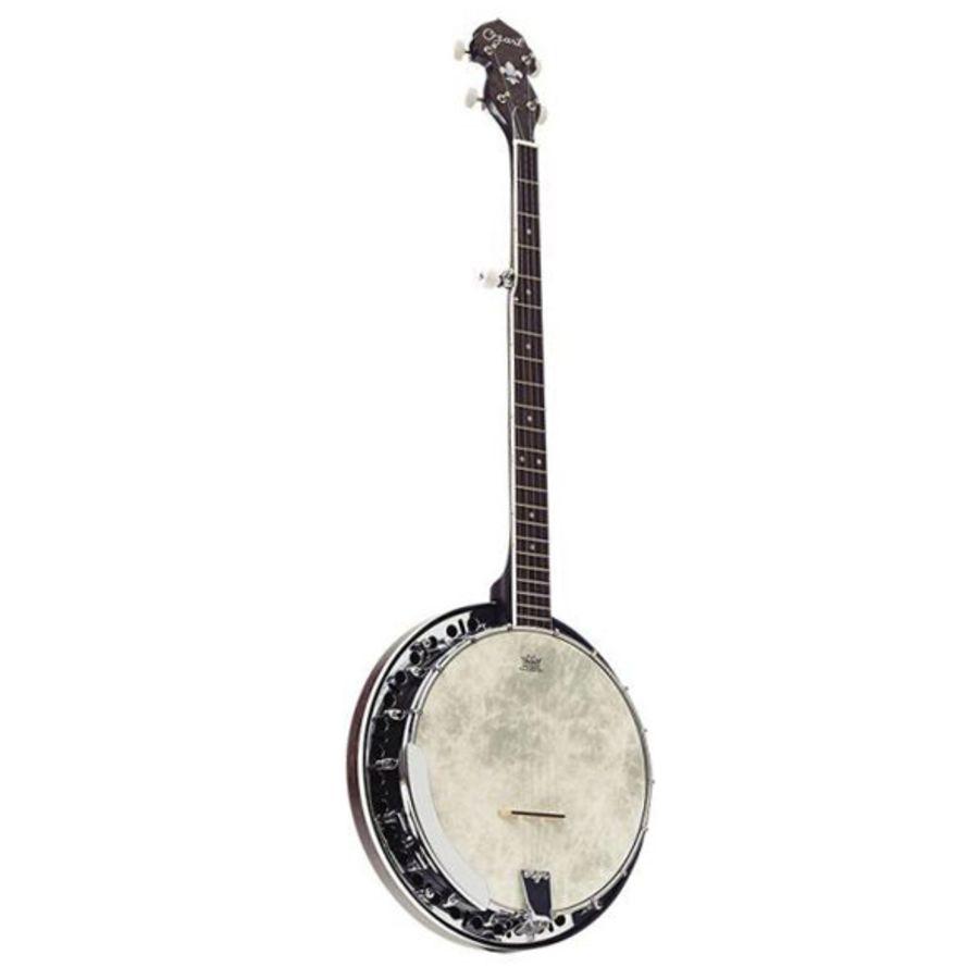 Ozark 2306GBK - 5 String Banjo - Transparent Black